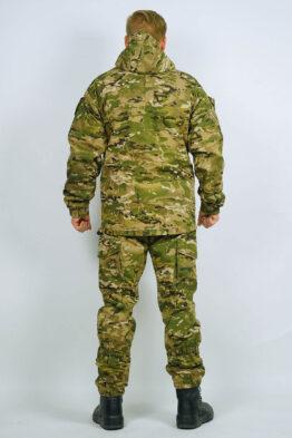 Демисезонный костюм INRUSKA TWIN, рип-стоп, мультикам (вид со спины) — магазин всегорки.рф