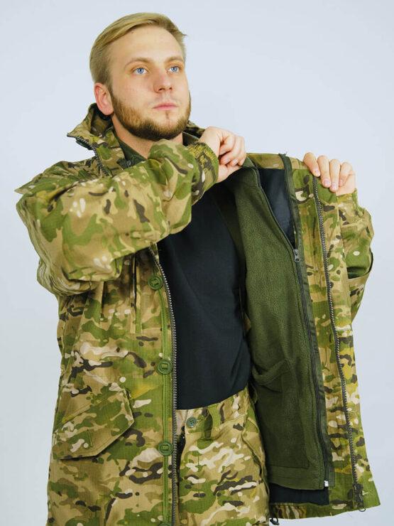 Флисовая подстежка в куртке INRUSKA TWIN — магазин всегорки.рф