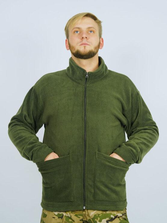 Флисовая толстовка-подстежка в костюме INRUSKA TWIN (вид спереди) — магазин всегорки.рф