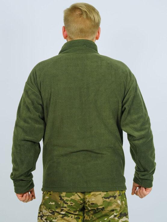 Флисовая толстовка-подстежка в костюме INRUSKA TWIN (вид со спины) — магазин всегорки.рф