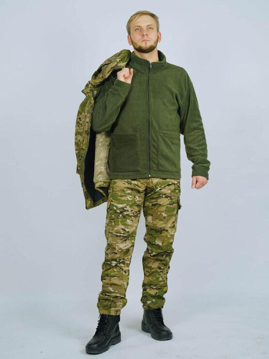Флисовая толстовка-подстежка в костюме INRUSKA TWIN — магазин всегорки.рф