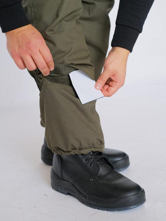 Клапан для усиления наколенника в брюках INRUSKA TWIN, рип-стоп, хаки — магазин всегорки.рф