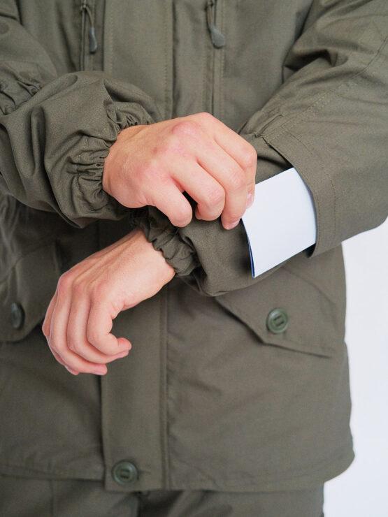Клапан под усиление налокотника в куртке INRUSKA TWIN, рип-стоп, хаки — магазин всегорки.рф