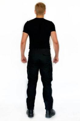 """Брюки """"BDU"""" черные (вид со спины) — магазин всегорки.рф"""