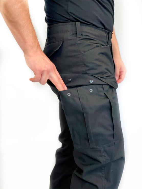"""Брюки """"BDU"""" черные (набедренный карман) — магазин всегорки.рф"""