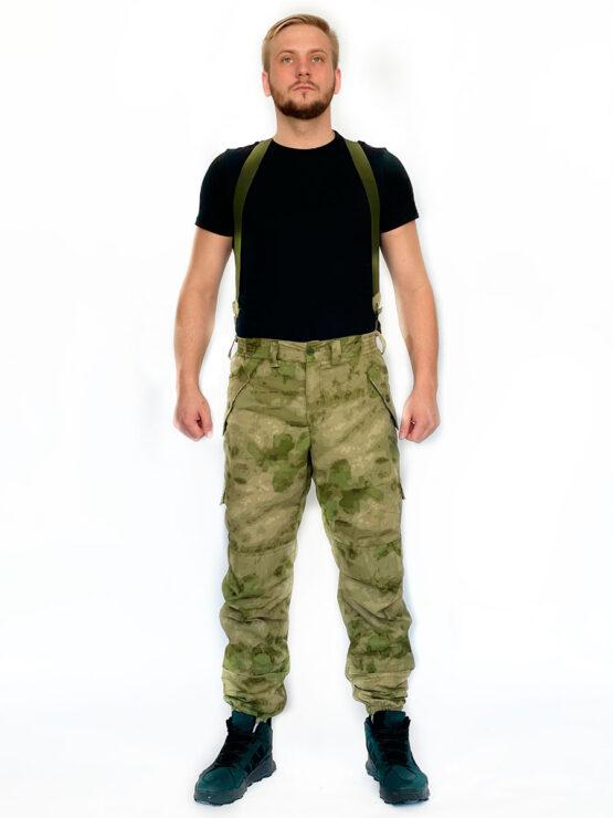 "Летний костюм ""Горка 5"", сорочка, мох (брюки, вид спереди) — магазин всегорки.рф"