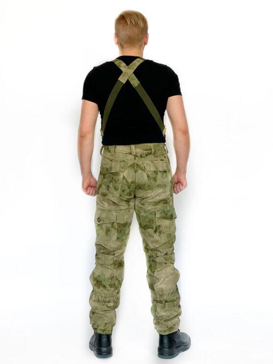 """Летний костюм """"Горка 5"""", сорочка, мох (брюки, вид со спины) — магазин всегорки.рф"""
