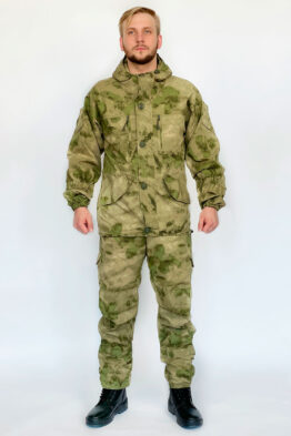 "Летний костюм ""Горка 5"", сорочка, мох (вид спереди) — магазин всегорки.рф"