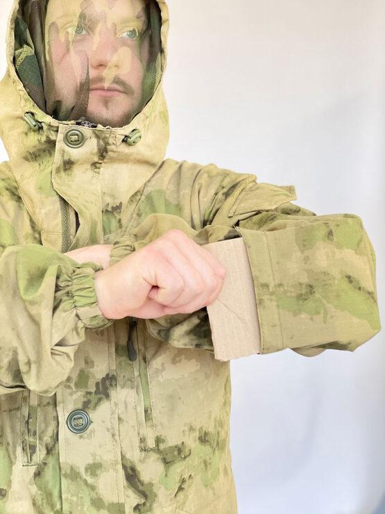 """Летний костюм """"Горка 5"""", сорочка, мох (клапан для усиления налокотника) — магазин всегорки.рф"""